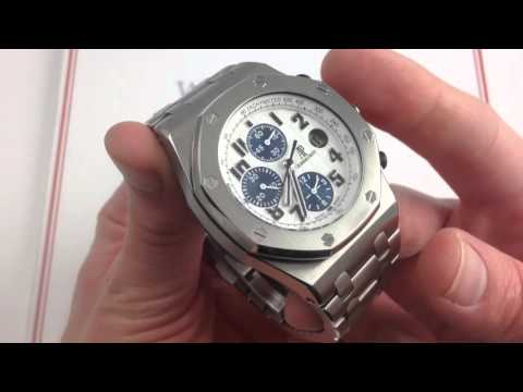 "Audemars Piguet Royal Oak Offshore Themes ""Navy"" Luxury Watch Review"