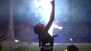 Pokaz ognia w Platinum Mountain Hotel & SPA