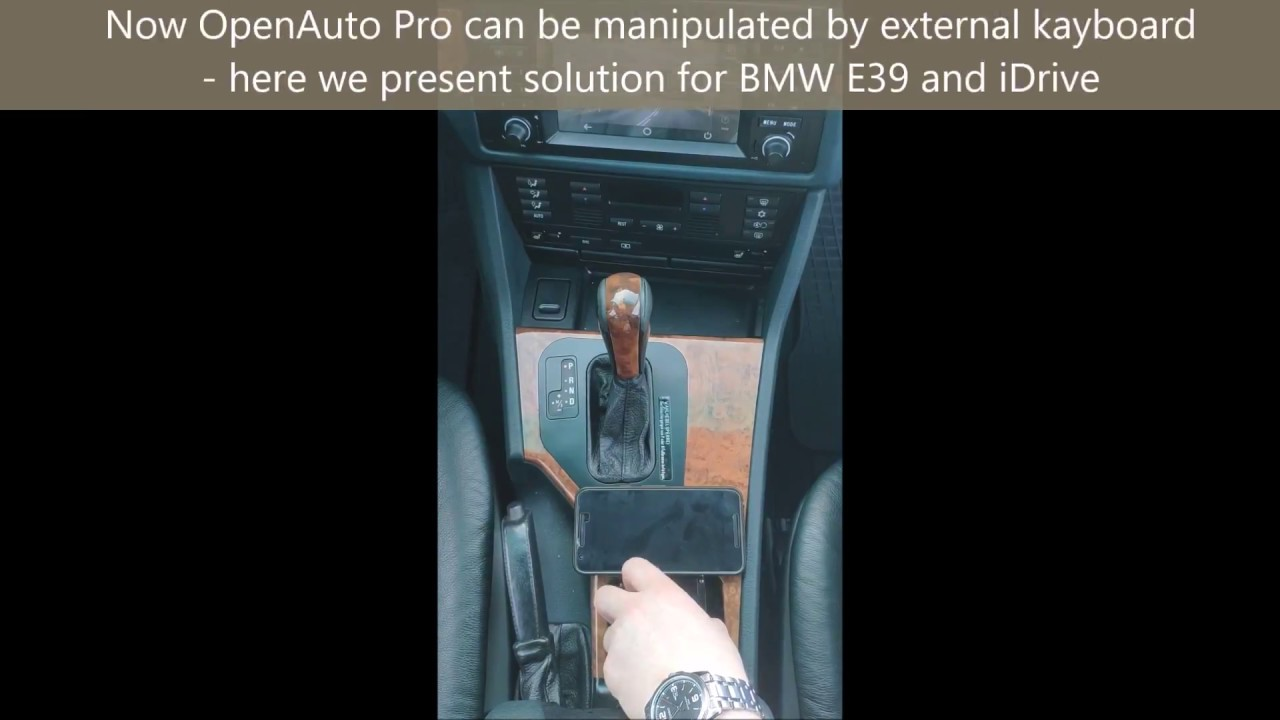 New features of OpenAuto Pro 2 0 - Keyboard controls [BMW E39]