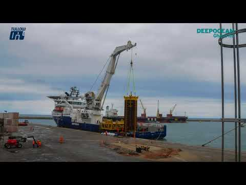 DeepOcean Ghana Ltd, GEM installation, TEN field, Ghana, West Africa for Tullow Oil Plc