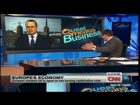 Swedish Finance Minister on European Economy