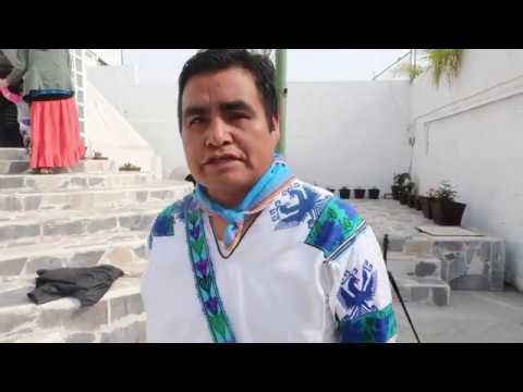 Interview de Miguel de la Cruz - Marakame et gardien du peyotl. Par M. Drake. A Puebla - Mexique.