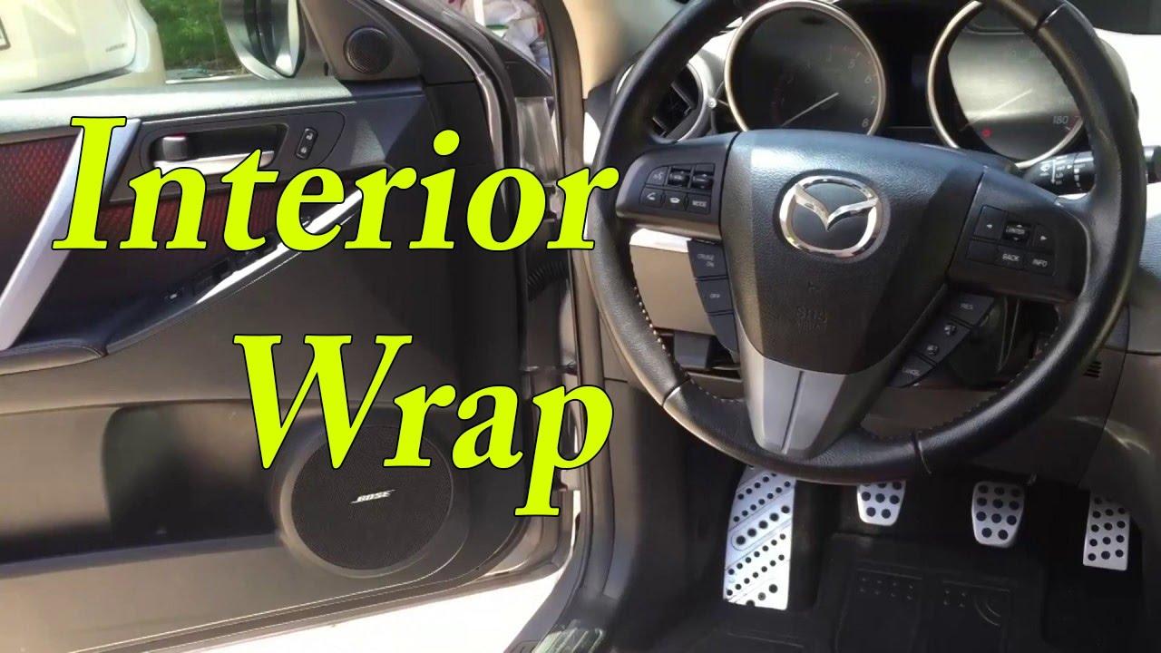 Interior Wrap   Mazdaspeed 3 Amazing Ideas