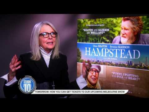 Diane Keaton Talks Hampstead