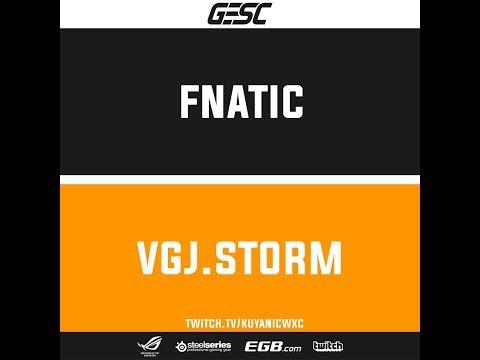 Fnatic Vs VGJ.Storm Game 1   GESC: Thailand Dota2 Minor   Semifinals   BO3