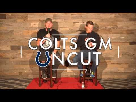 Pat McAfee Sits Down With Colts GM Chris Ballard