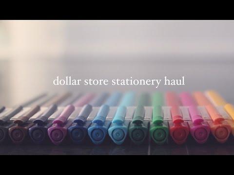 Dollar Store Stationery Haul!