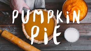 Spicy Pumpkin Pie 🍁 Пряный Тыквенный Пирог