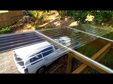 How to install polycarbonate roofing