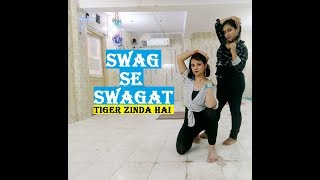 Swag Se Swagat Song | Dance Choreography | Tiger Zinda Hai by Poonam Pant  (Watch in HD)