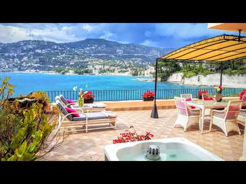 Cap Ferrat Luxury Terrace Sea Front - Saint Jean Cap Ferrat - France