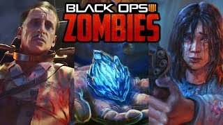 ALLE ÄTHER STORYLINE EASTER EGGS in BLACK OPS 4 ZOMBIES LIVE [Deutsch] HD