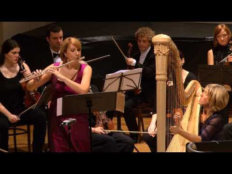 Mozart - Concerto for Flute, Harp, and Orchestra in C major,