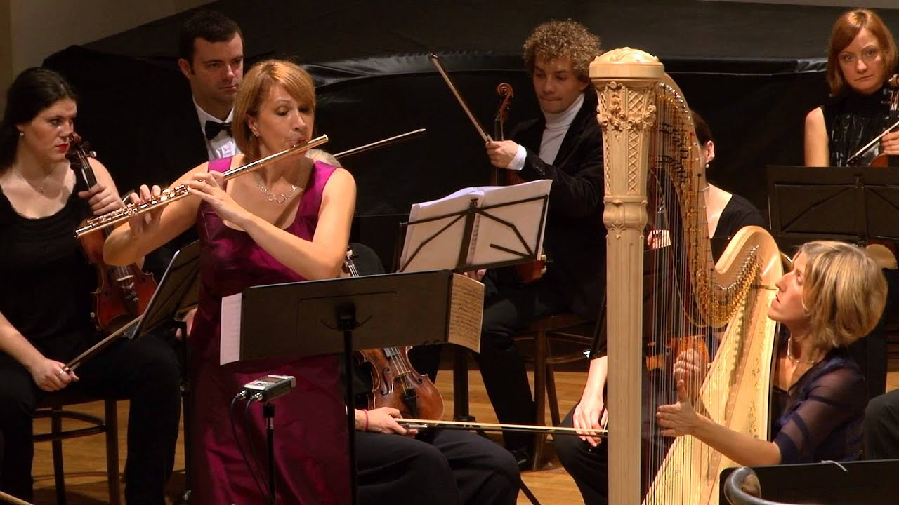 Mozart Concerto for Flute Harp and Orchestra in C major, K 299