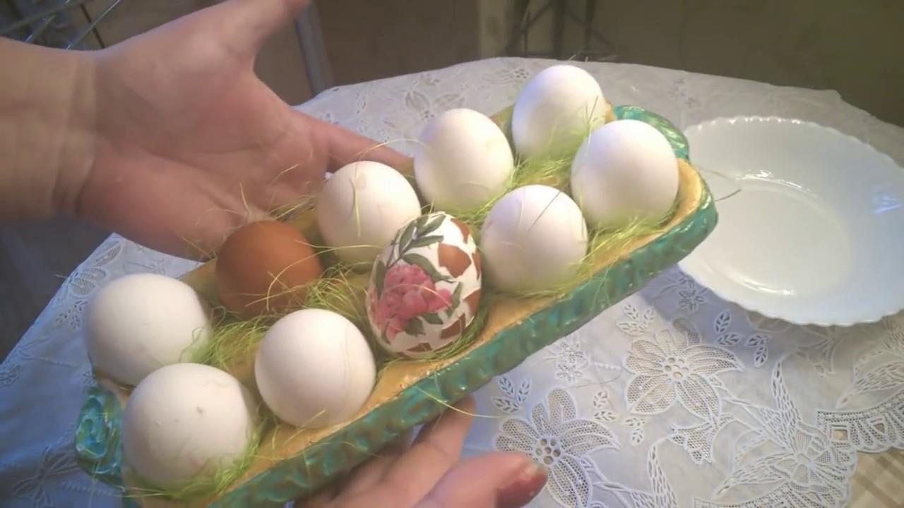 необычная упаковка для освящения яиц на Пасху своими ...