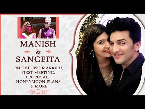 Sangeita Chauhaan and Manish Raisinghan On Their Marriage, Proposal, Honeymoon, Dating & More