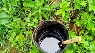 видео Битумная мастика для гидроизоляции фундамента: метод