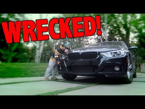 How I Crashed My Car! *Sorta Clickbait?*