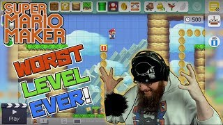 WORST LEVEL EVER OF ALL TIME - Super Mario Maker - #OshiSMM 5!