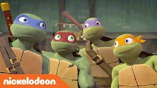 Teenage Mutant Ninja Turtles | Even More Epic Fight Fails! | Nick