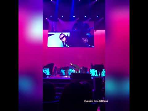 jussie smollett   performing janet jackson that's the way love goes  8-30-18 bmirnb hip hop awards