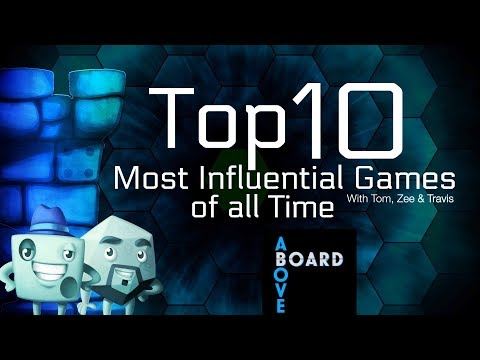 Top 10 Most Influential Games Of All Time (with Travis Oates)