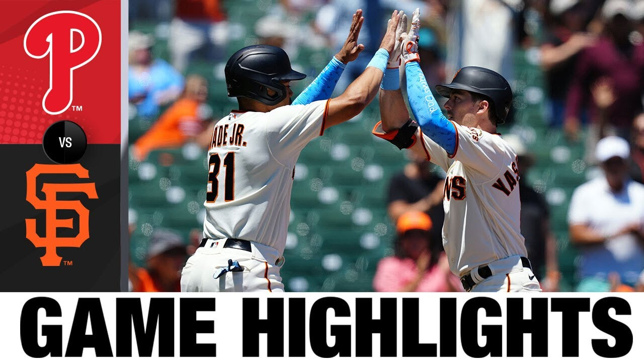 Download Phillies vs. Giants Game Highlights (6/20/21) | MLB Highlights