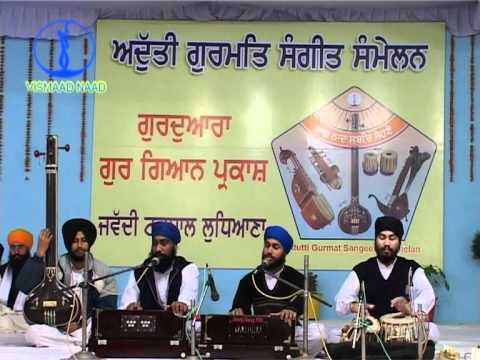 Adutti Gurmat Sangeet samellan- 2004 (Partaal) Jawaddi Taksal_Bhai Harbaljit Singh Saket Mandi