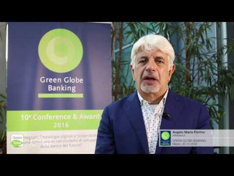 Intervista a Angelo Maria Perrino | X Edizione Green Globe Banking Conference & Award
