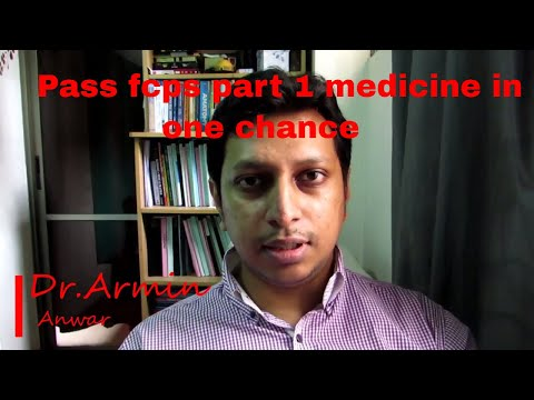 how to pass fcps part 1 in medicine in  1 chance