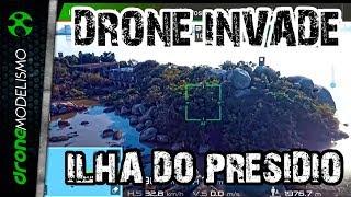 DRONE INVADE Ilha do PRESÍDIO e quase DEU RUIM
