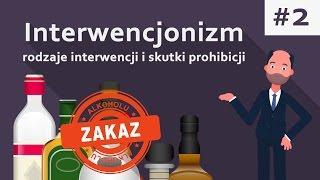 Rodzaje interwencji i skutki prohibicji | Interwencjonizm cz. 2