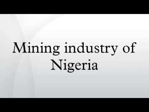 Mining industry of Nigeria