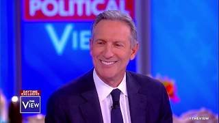 Howard Schultz reacts to President Trump insulting him on Twitter   The View
