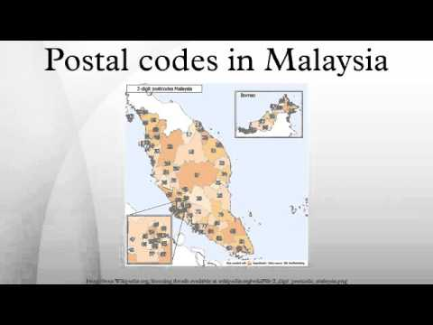 Postal codes in Malaysia