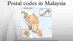 Postal codes in Malaysia