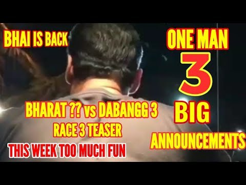 THE 3 BIG QUESTIONS | DABANGG3 | BHARAT...