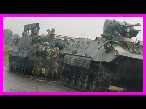 Soldiers seize zimbabwe state broadcaster, anti-mugabe coup talk intensifies