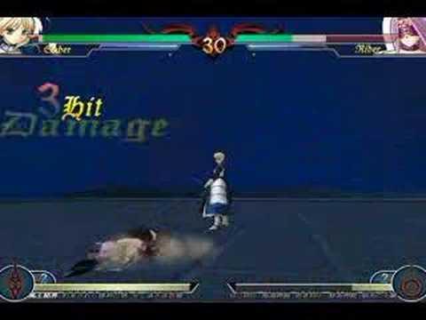 Fatal/Fake - Saber versus Rider