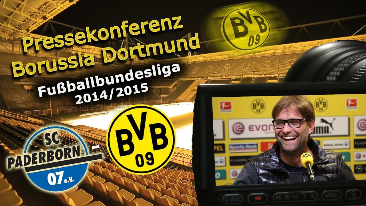 SC Paderborn - Borussia Dortmund : BVB Pressekonferenz Jürgen Klopp