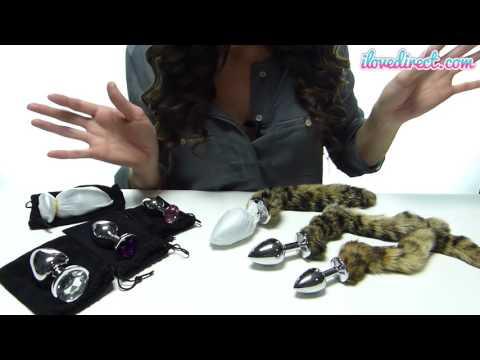 Metal Butt Plug & Anal Plug Reviews - Jewel Plugs And Cat Tail Fox Tail Plugs