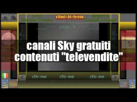 """canali Sky gratuiti - contenuti """"televendite"""" - classificazione su wikipedia"""