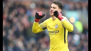 Ederson says he could play in midfield for Manchester City