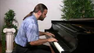 Bach: Invention 8 in F major (older version) | Cory Hall, pianist-composer