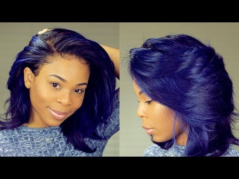 How to Dye Your Black Wig Vibrant Violet Purple | NADULA HAIR