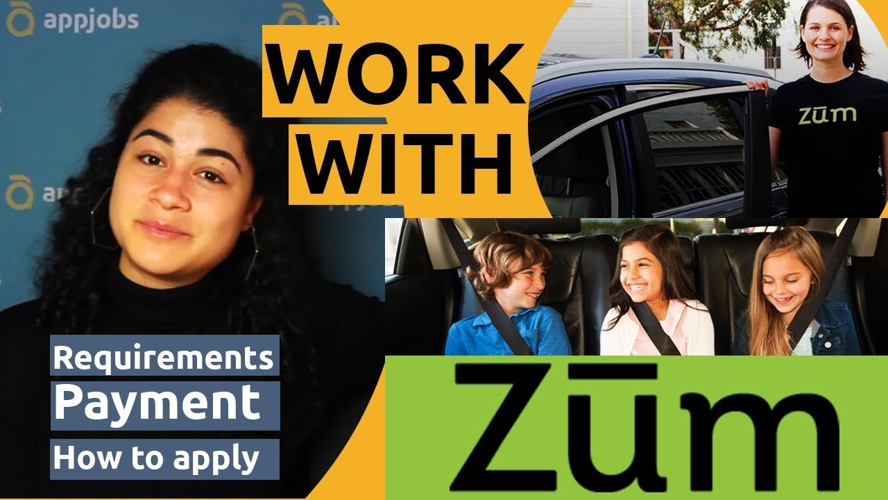 Become Zum driver in Los Angeles and drive with kids - AppJobs