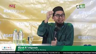 Download lagu [LIVE] Hijrah & Istiqamah - Ustadz Adi Hidayat