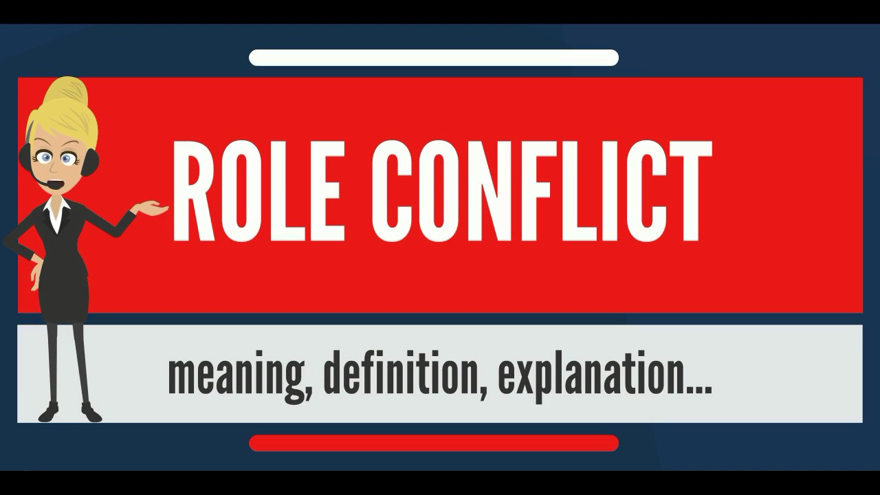 role conflict definition sociology