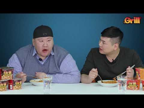 Grill Noodle Challenge  Batushka & Ganbaa