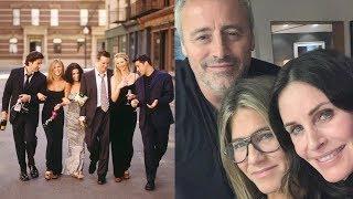 Courteney Cox Shares 'Friends' Reunion Selfie